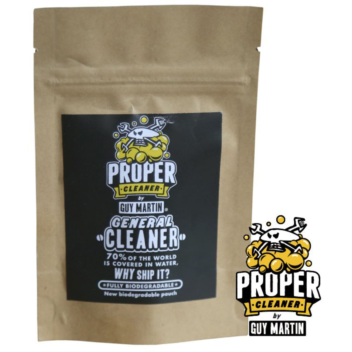 Proper Cleaner General Cleaner Refill Pack - 1.5 Litres Yellow