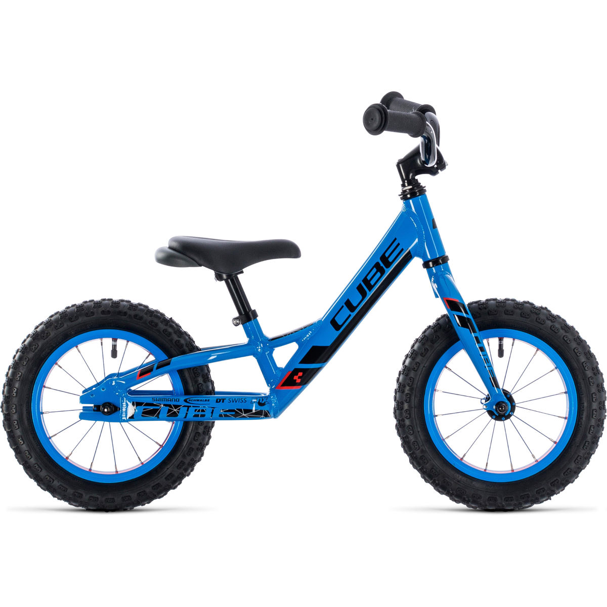 Cube Cubie 120 Walk Kids Bike (2020) – 12″ Actionteam Blue
