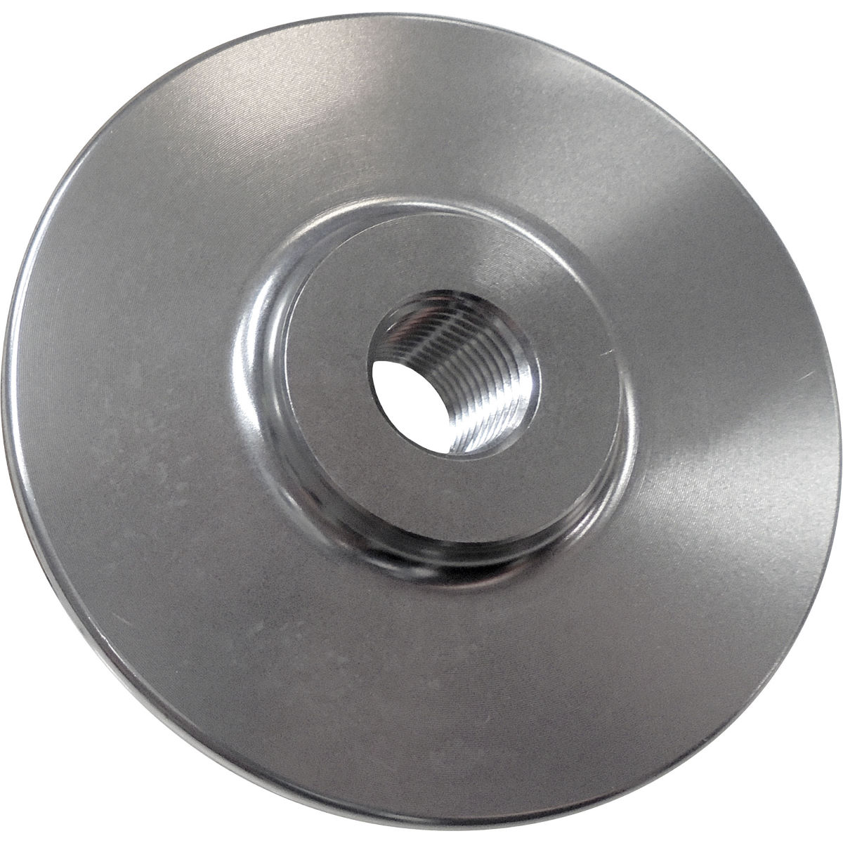 Proper Front Hubguard - 10mm Female Silver  Wheel Hub Spares