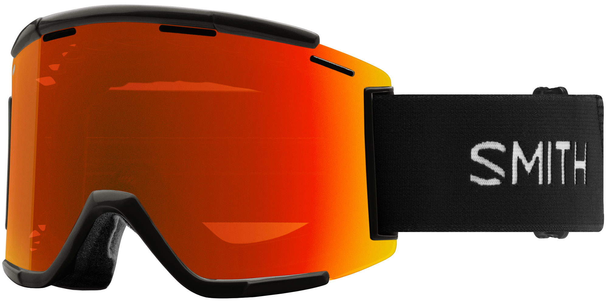 Smith Squad MTB XL Goggles Everyday Red Mirror Lens | Glasses
