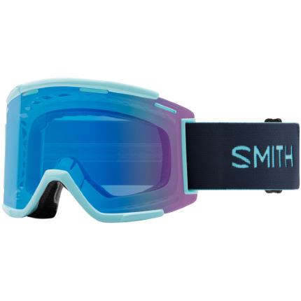 Smith Squad MTB XL Goggles Contrast Rose Flash Lens