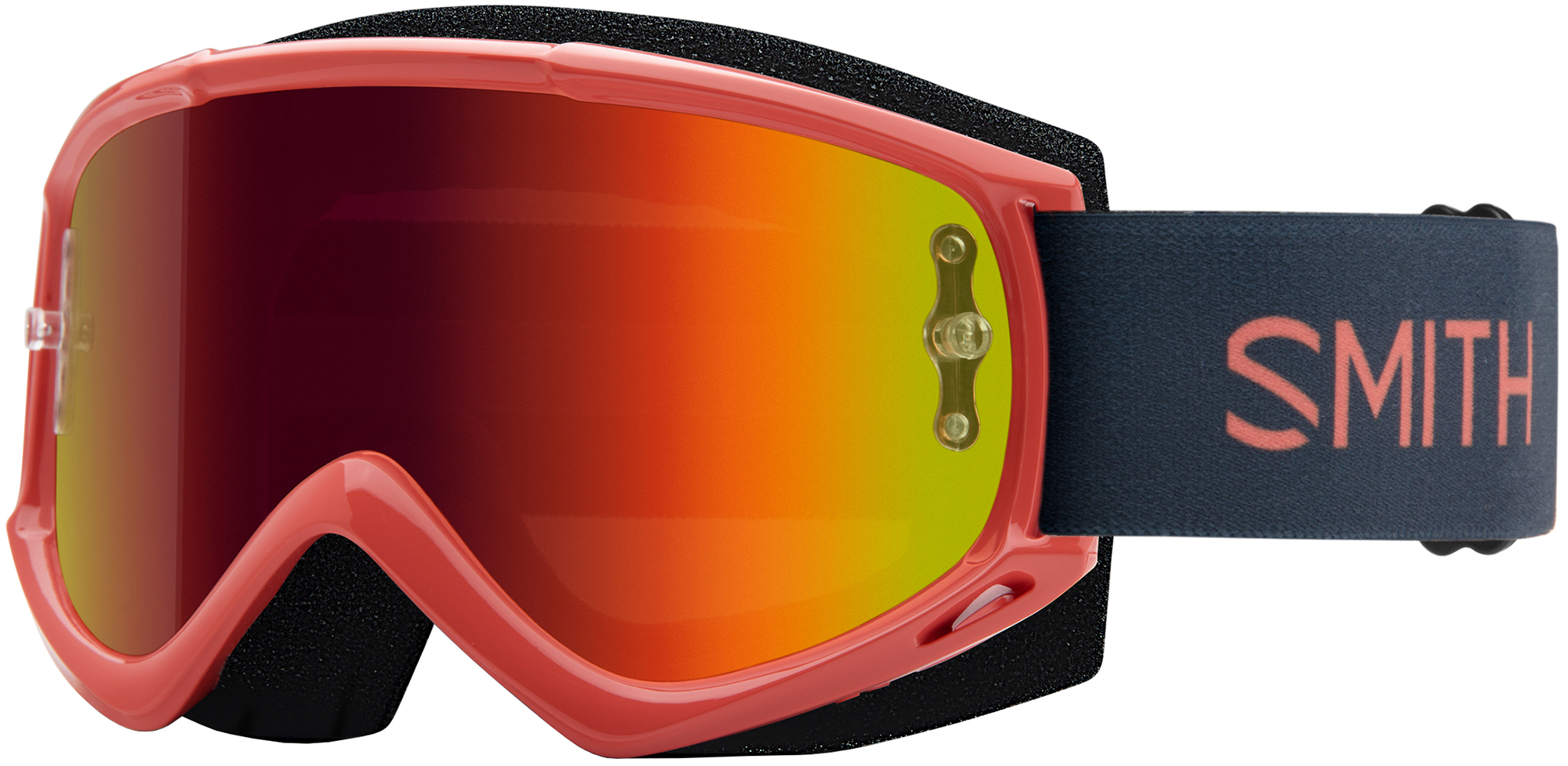Smith Fuel V.1 Max M Goggles Red Mirror Lens | Glasses