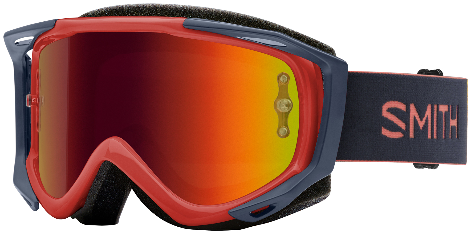 Smith Fuel V.2 SW-X M Goggles Red Mirror Lens | Glasses