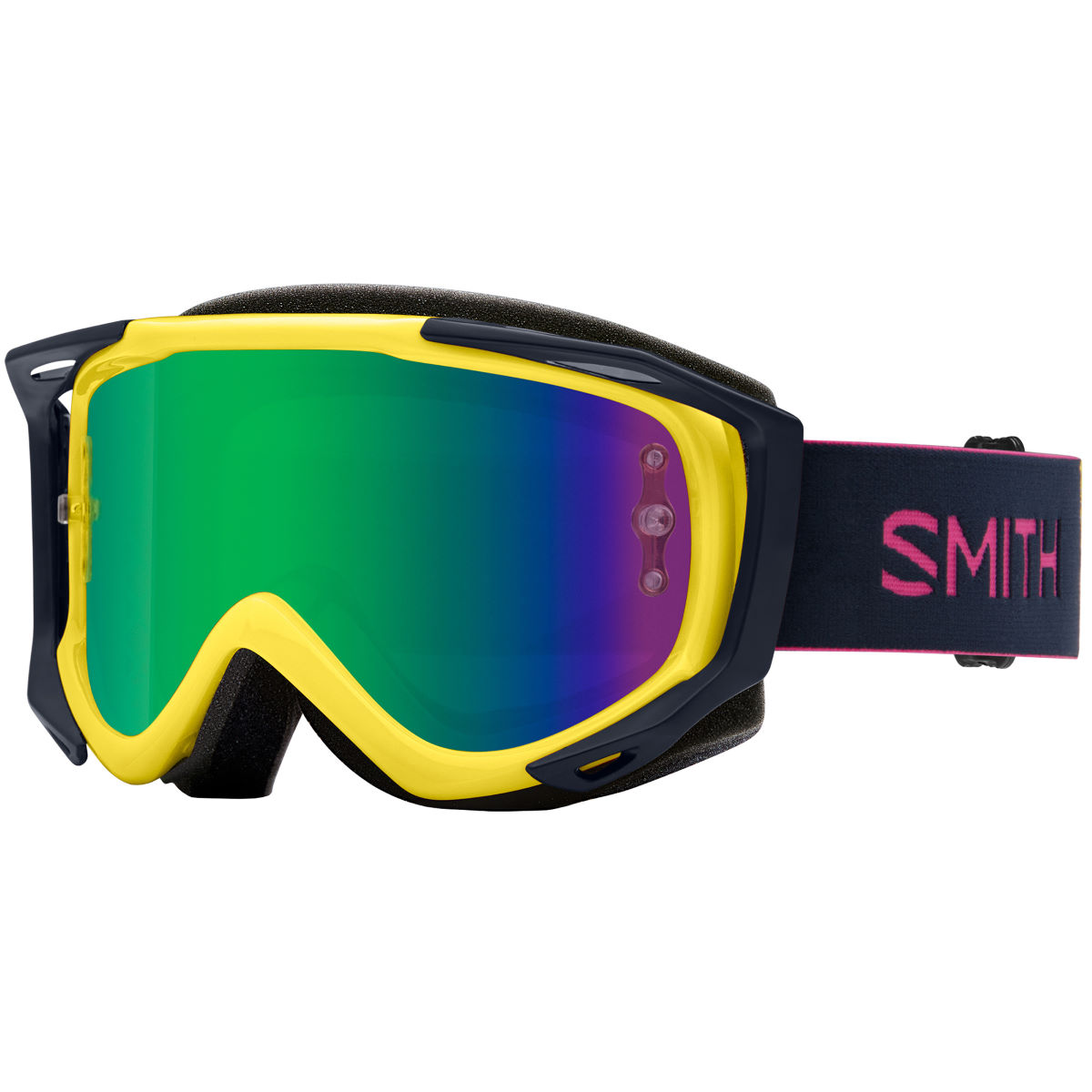 Smith Smith Fuel V.2 SW-X M Goggles Green Mirror Lens   Cycling Goggles