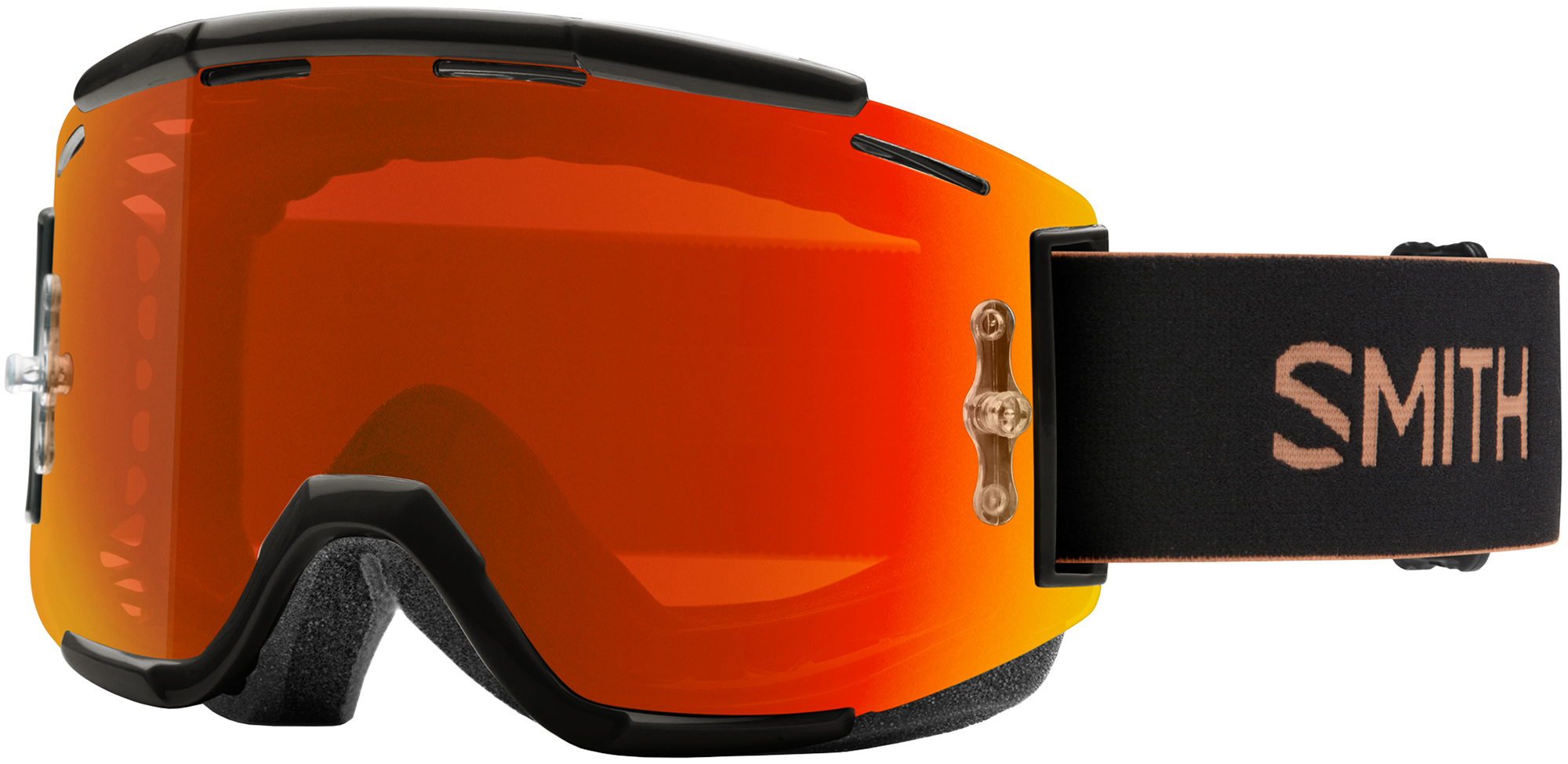 Smith Squad MTB Goggles Everyday Red Mirror Lens | Glasses