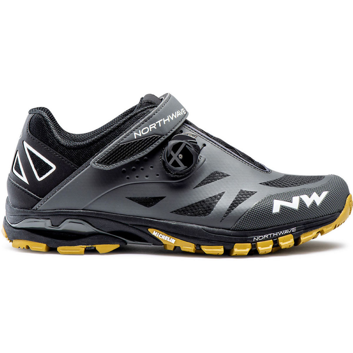Northwave Spider Plus 2 Mtb Shoes - 39 Anthracite  Cycling Shoes