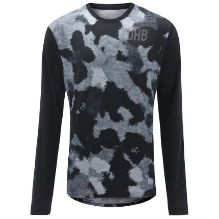 dhb MTB Long Sleeve Trail Jersey - Camo