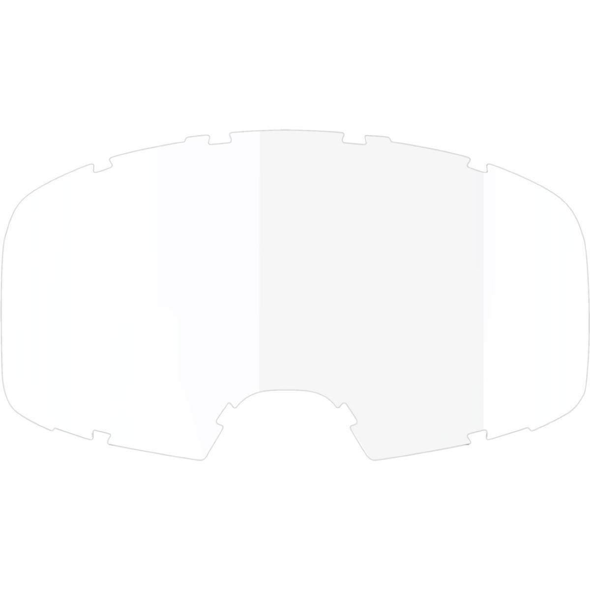 Ixs Clear Single Lens - One Size Clear  Cycling Goggles
