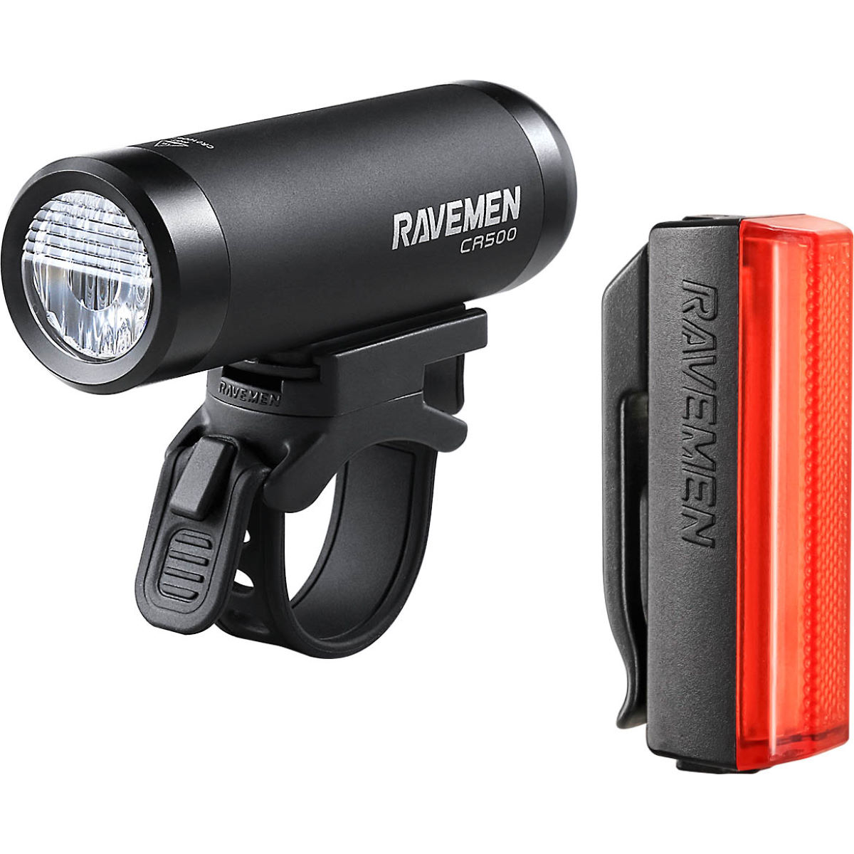 Ravemen CR500 / TR20 USB Rechargeable Front and Rear Light