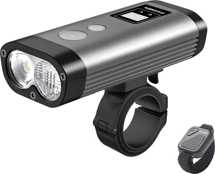 Ravemen PR1600 USB Rechargeable Front Light | Front lights