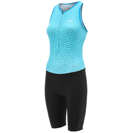 dhb Moda Women's Sleeveless Tri Suit - Sweet Pea