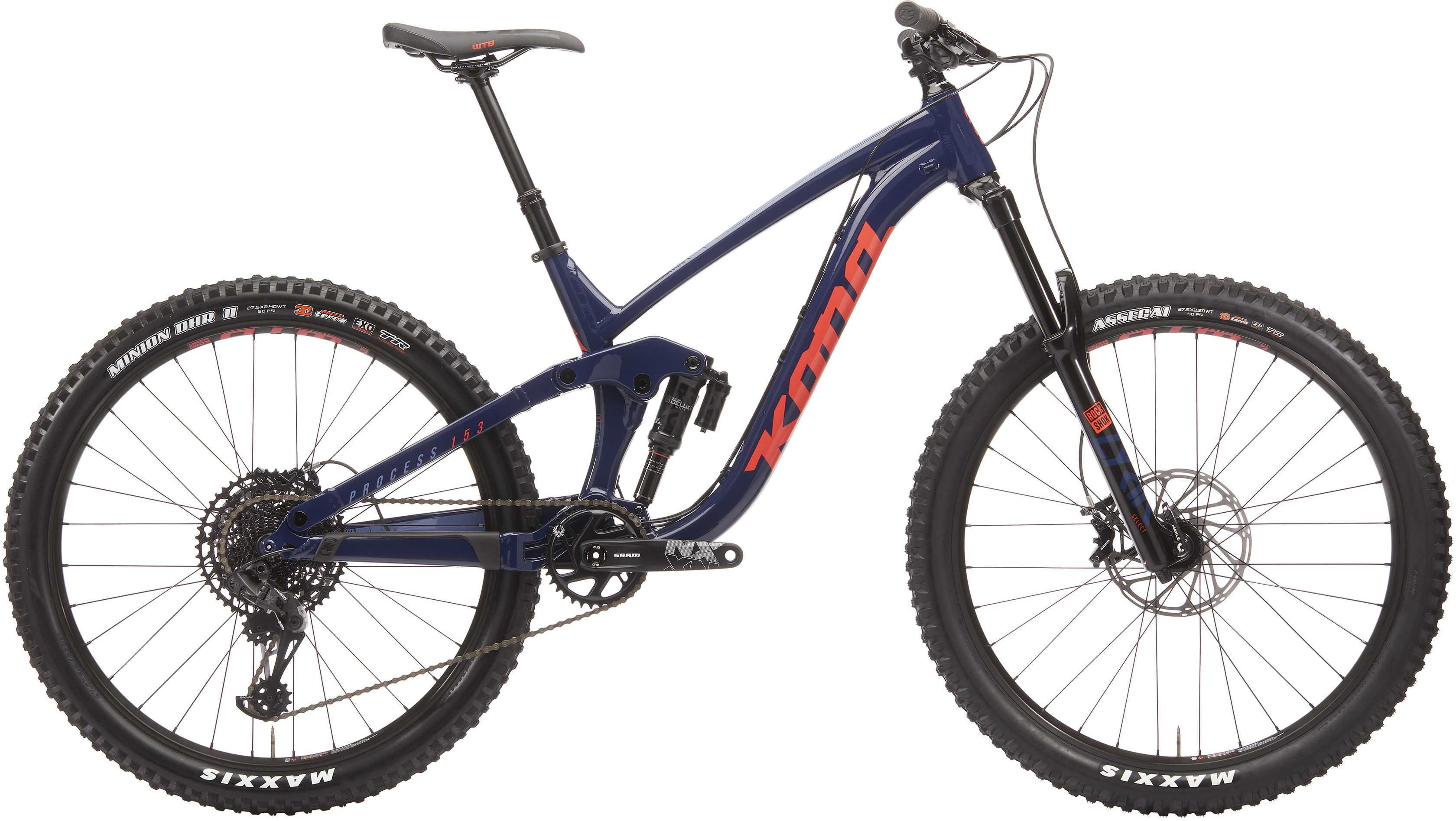 Kona Process 153 DL 27.5 Full Suspension Bike (2020) | MTB