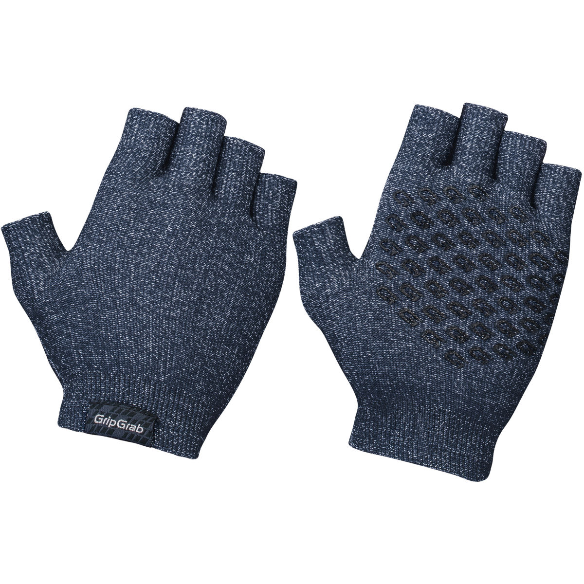Gripgrab Freedom Knitted Cycling Gloves - M/l Navy  Gloves