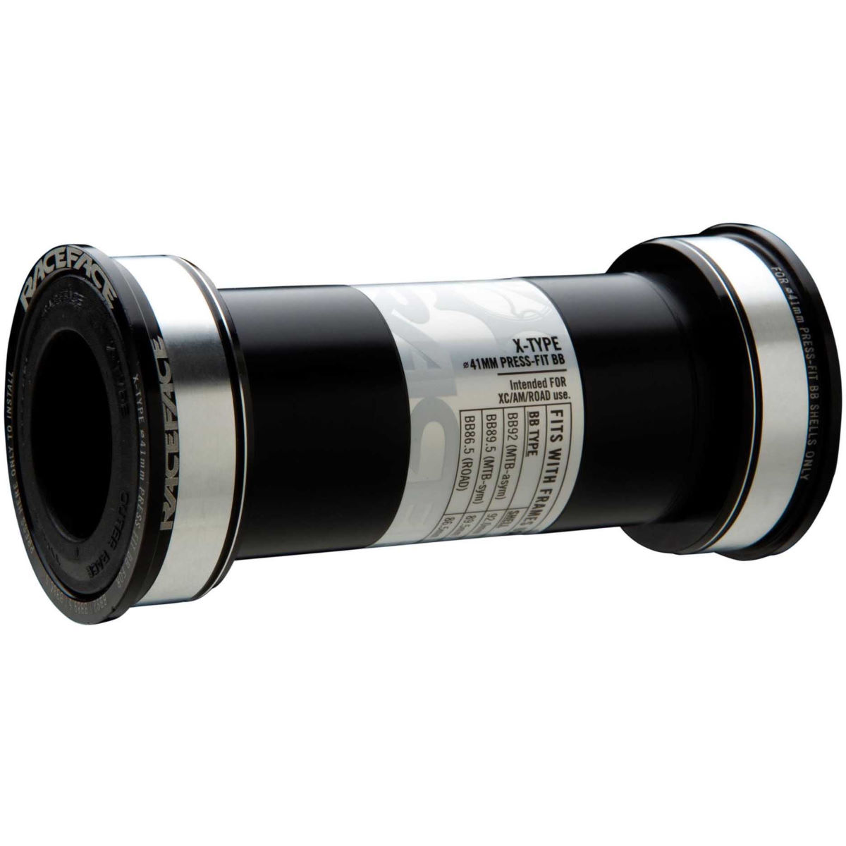 Race Face Cinch Bb124 Bottom Bracket - 30mm Double Ext Seal Black