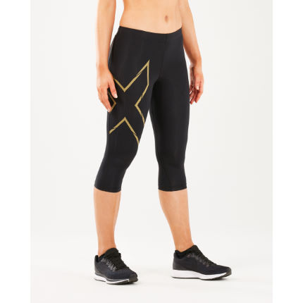 2XU Women's Aerovent Mid-rise Compression 3/4 Tights