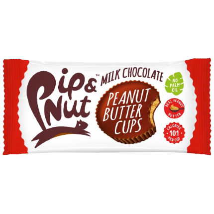 Pip and Nut Milk Chocolate Peanut Butter Cups (15 x 34g)