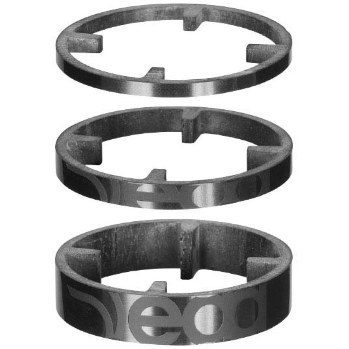 Deda Deda HSS 46 Carbon Spacers 3pk   Headset Spacers