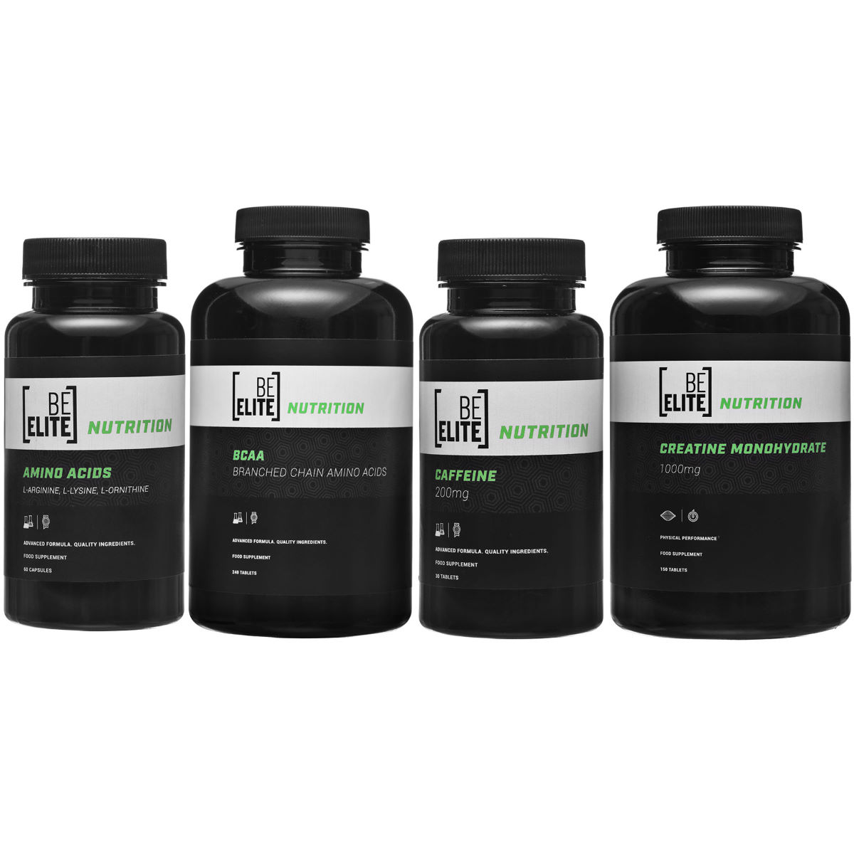 BeElite BeElite Strength Bundle   Supplement Multi Packs