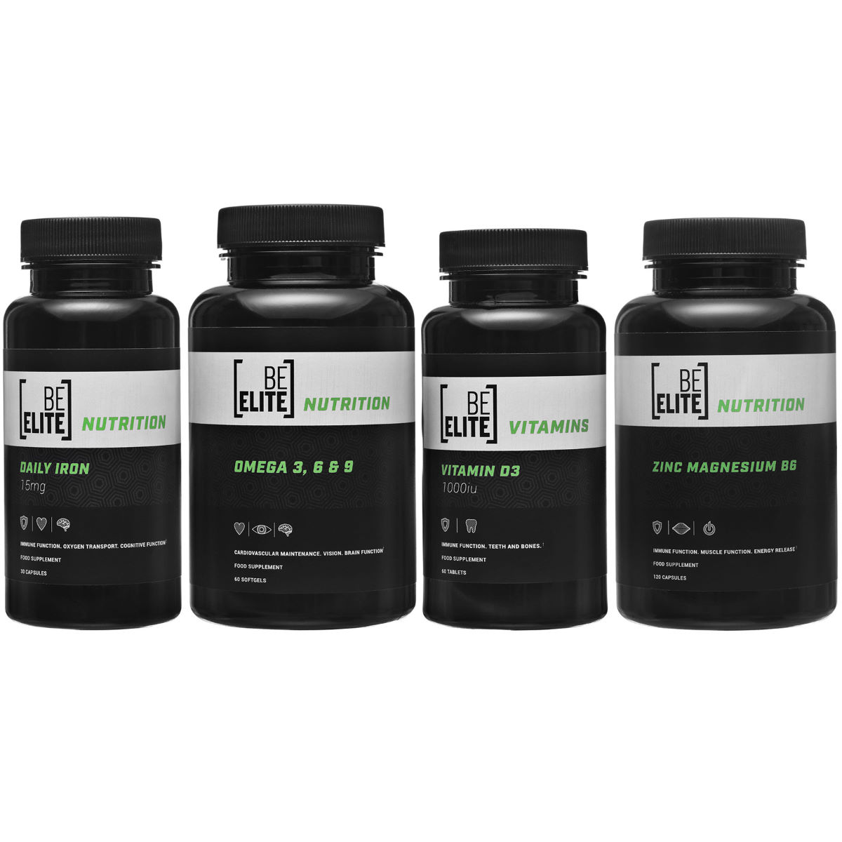 BeElite BeElite Body Health Bundle   Supplement Multi Packs