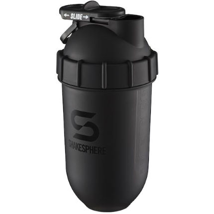ShakeSphere Shaker Bottle Matte Black