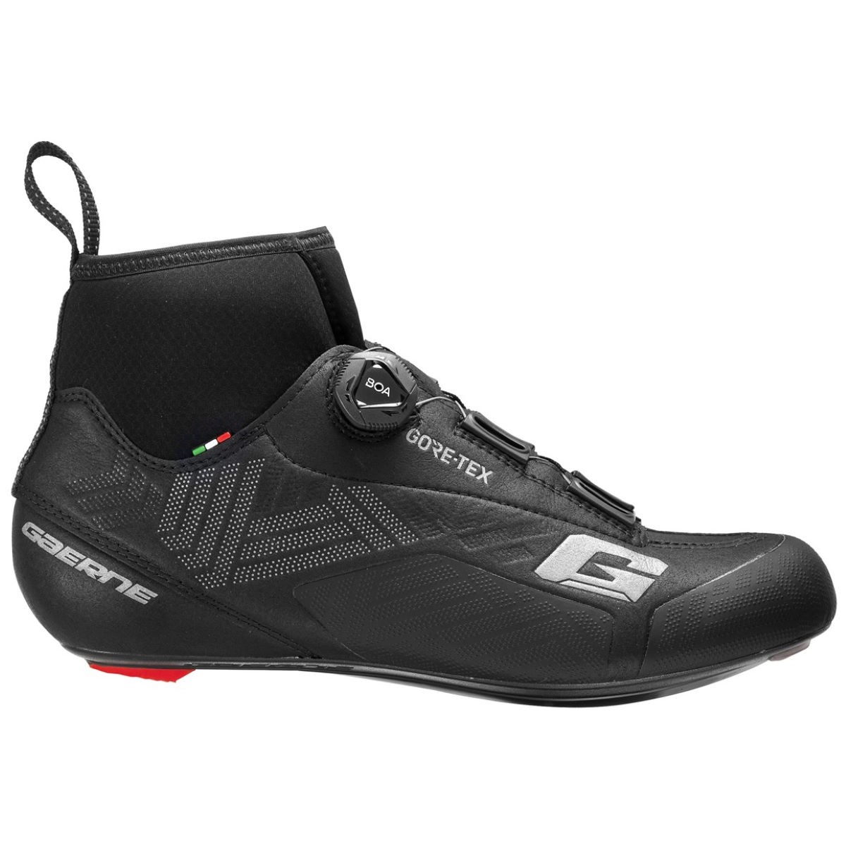Gaerne Icestorm Road Goretex Boots - 48 Black  Cycling Shoes