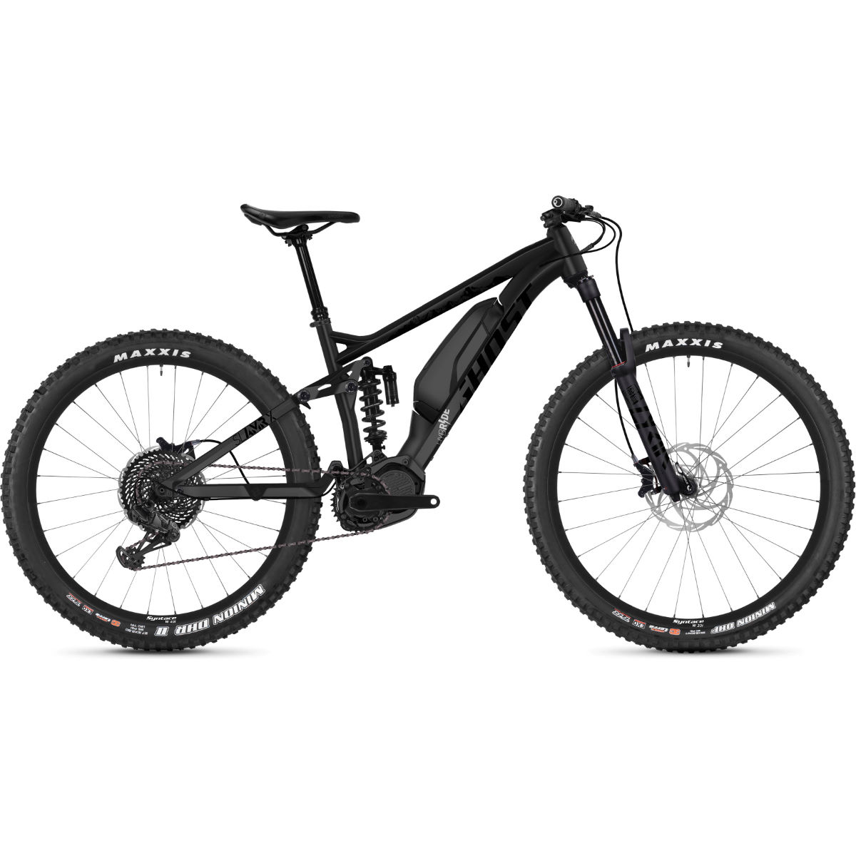 Ghost Ghost Hybride SL AMR X S4.7+ Suspension E-Bike (2020)   Electric Mountain Bikes