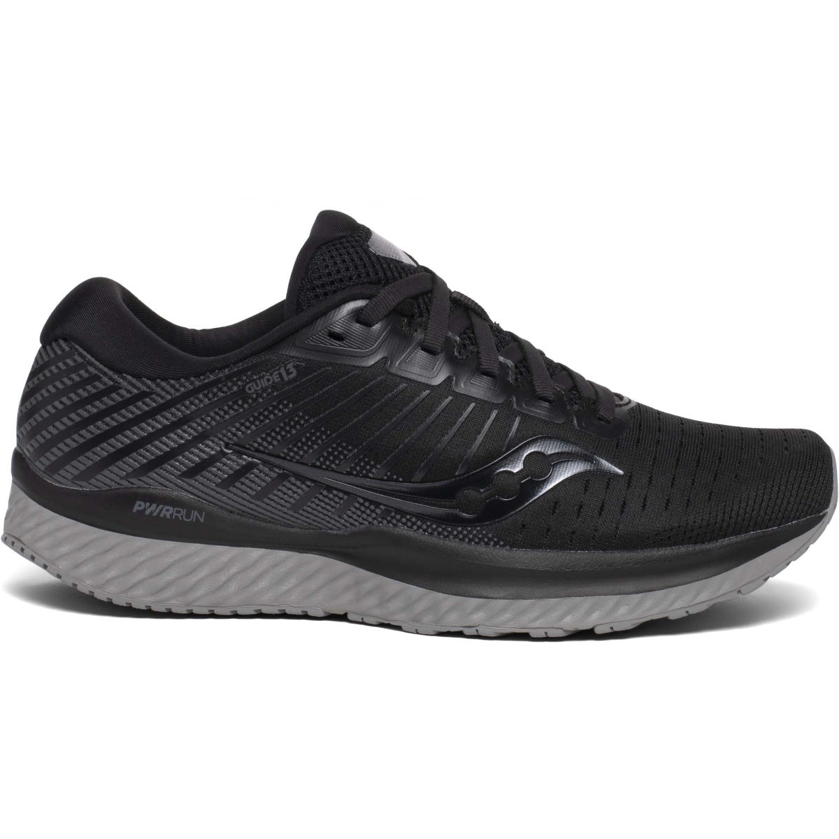 Saucony Women's Guide 13 Running Shoes - 9.5 Blackout   Running Shoes