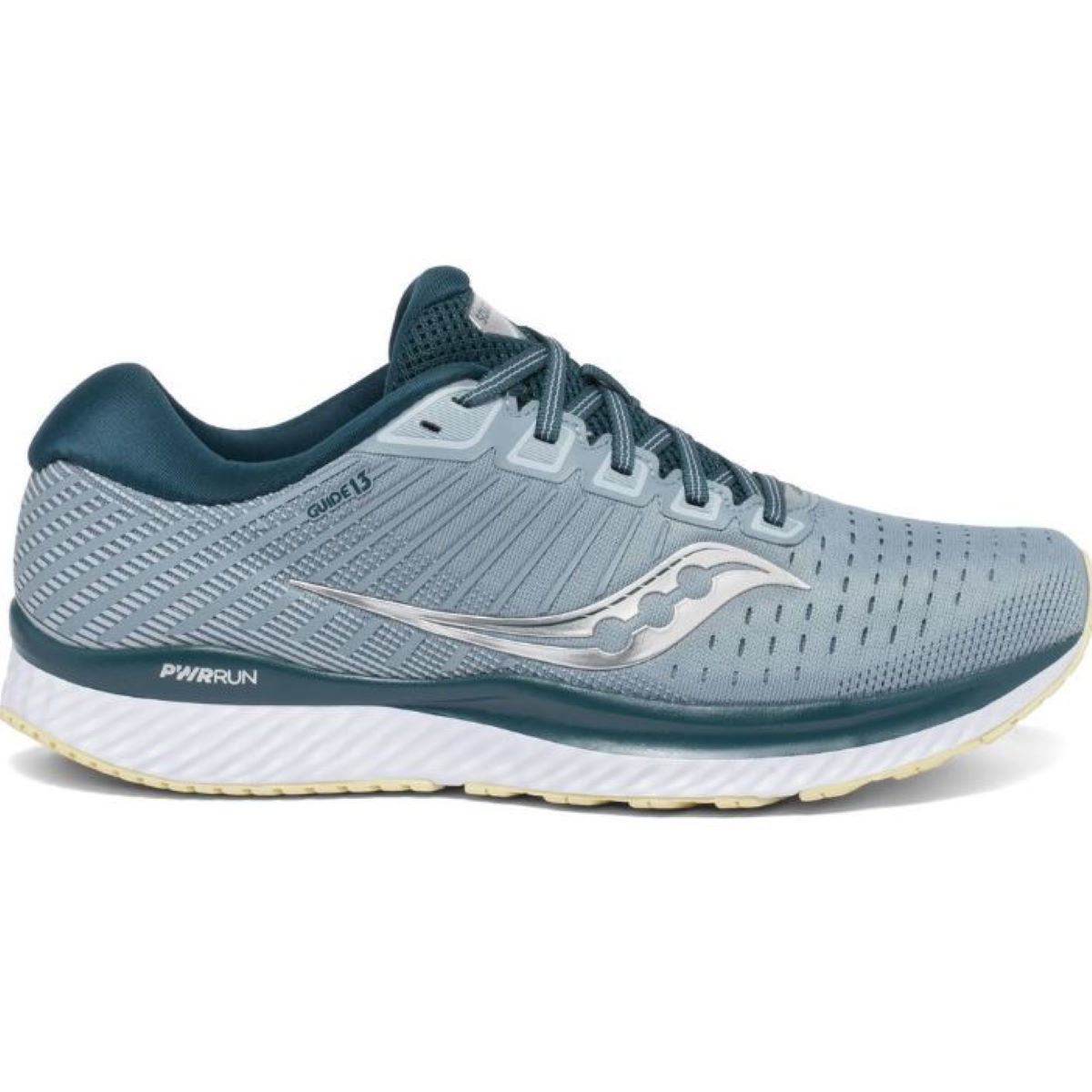 Saucony Guide 13 Running Shoes - UK 9.5 Mineral/Deep Teal