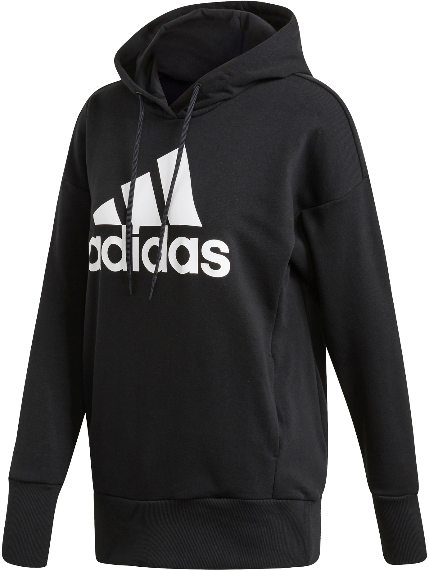 adidas Women's Badge of Sport Long Overhead Hoodie
