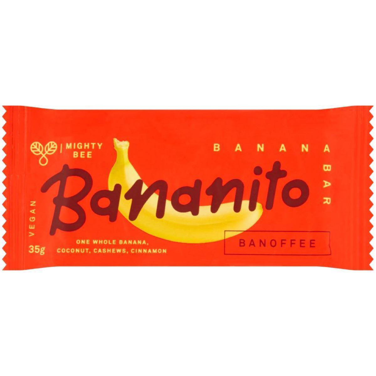Bananito Bananito Solar Dried Banana Energy Bar (24 x 35g)   Bars
