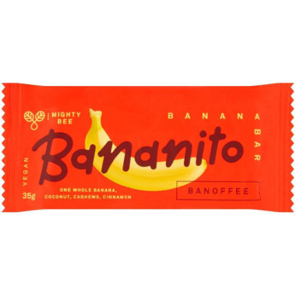 Bananito Solar Dried Banana Energy Bar (24 x 35g)