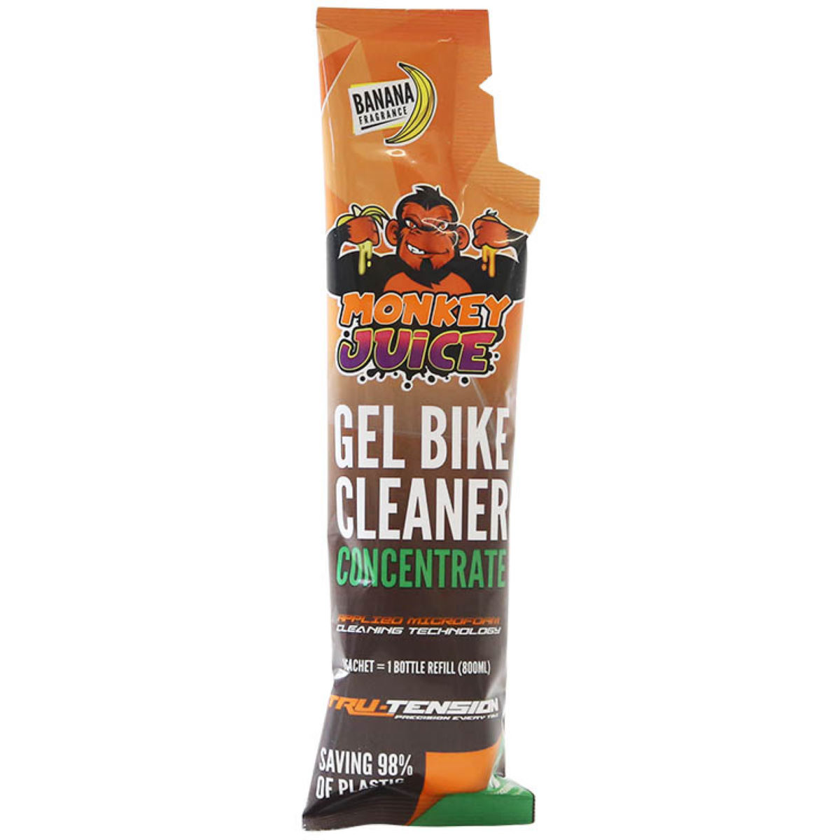 Tru-Tension Tru-Tension Monkey Juice Gel Bike Cleaner Concentrate Sachet   Cleaning Products