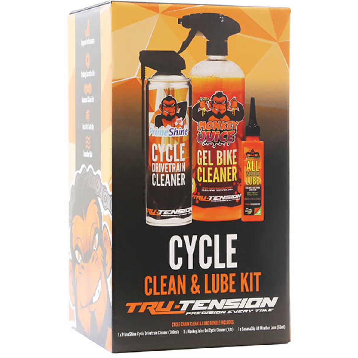 Tru-Tension Tru-Tension Cycle Clean and Lube Bundle   Cleaning Products
