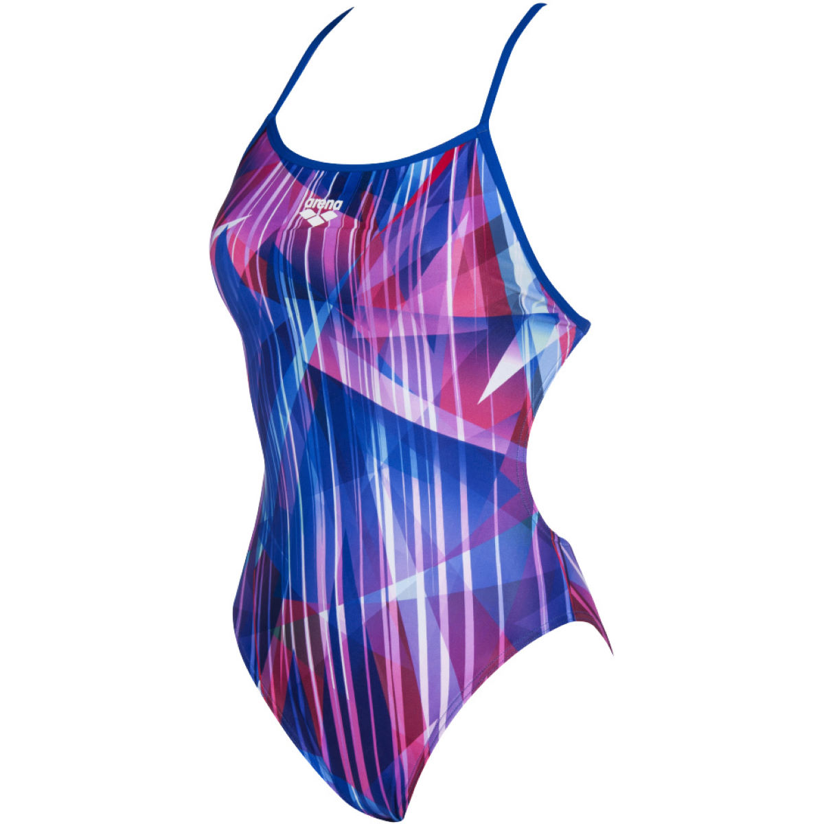 Arena Arena Womens shading prism booster back one piece swims   One Piece Swimsuits