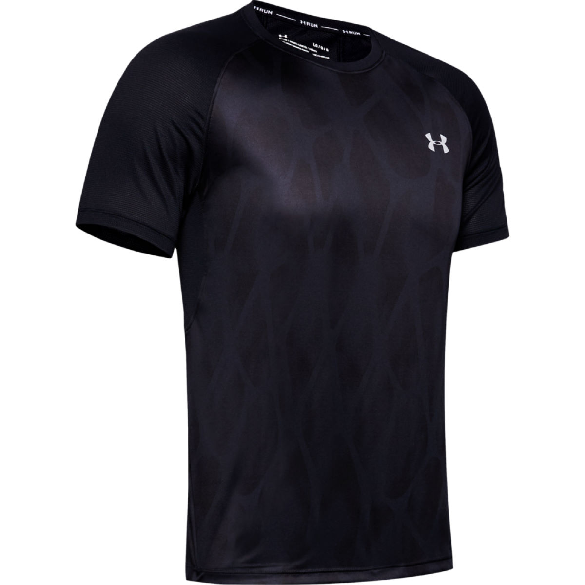 Under Armour Qualifier ISO-CHILL Printed Short Sleeve Top