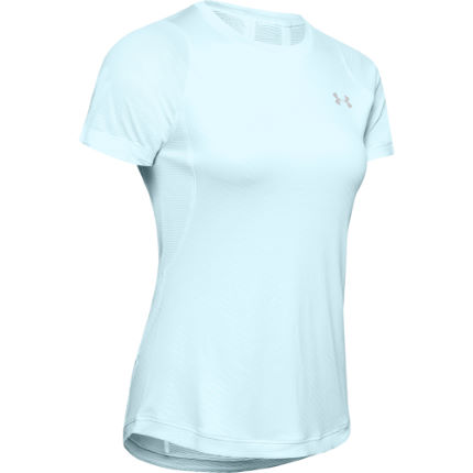 Under Armour Women's Qualifier ISO-CHILL Embossed Short Sleeve