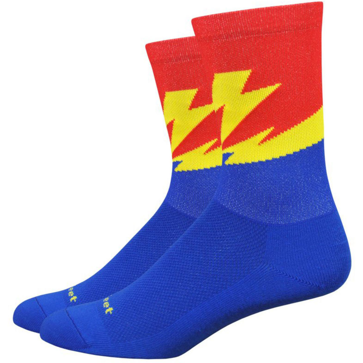 "DeFeet DeFeet Aireator Womens 5"" Flash Socks   Socks"