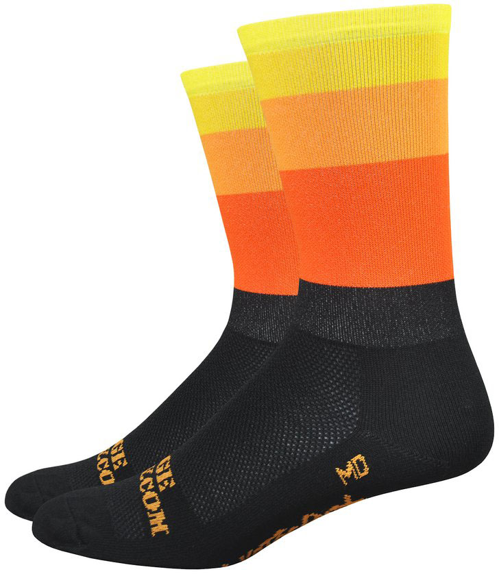 BLACK One Pair Castelli TRANSITION 18 cm Mid-Weight Bicycling Socks