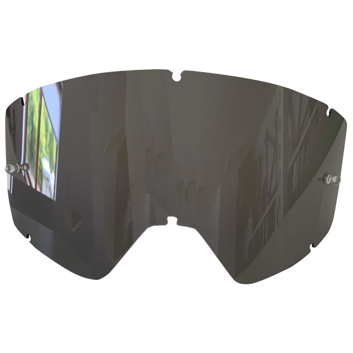 Sixsixone Radia Goggle Mirror Lens Replacement - S Silver