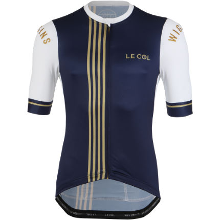 Le Col By Wiggins Pro Jersey (Navy/Gold)