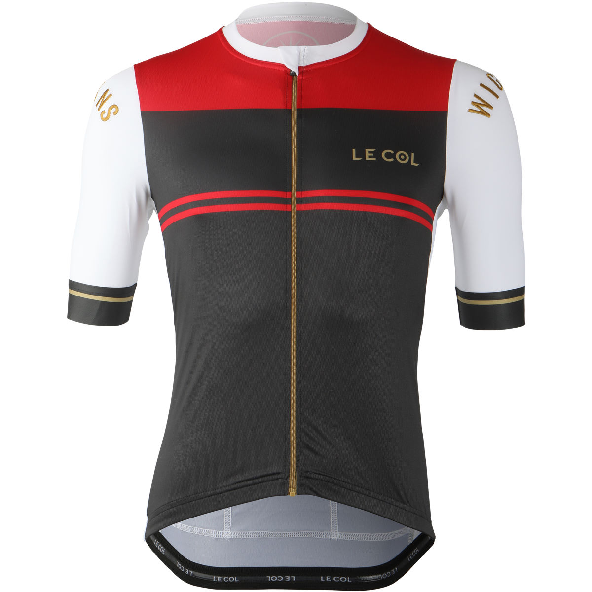 Le Col Le Col By Wiggins Pro Jersey (Ash/Red)   Jerseys