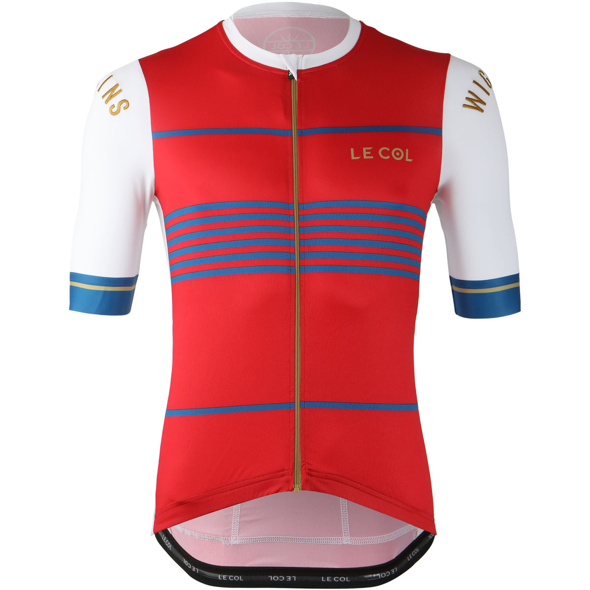 Le Col By Wiggins Pro Jersey (White/Red)
