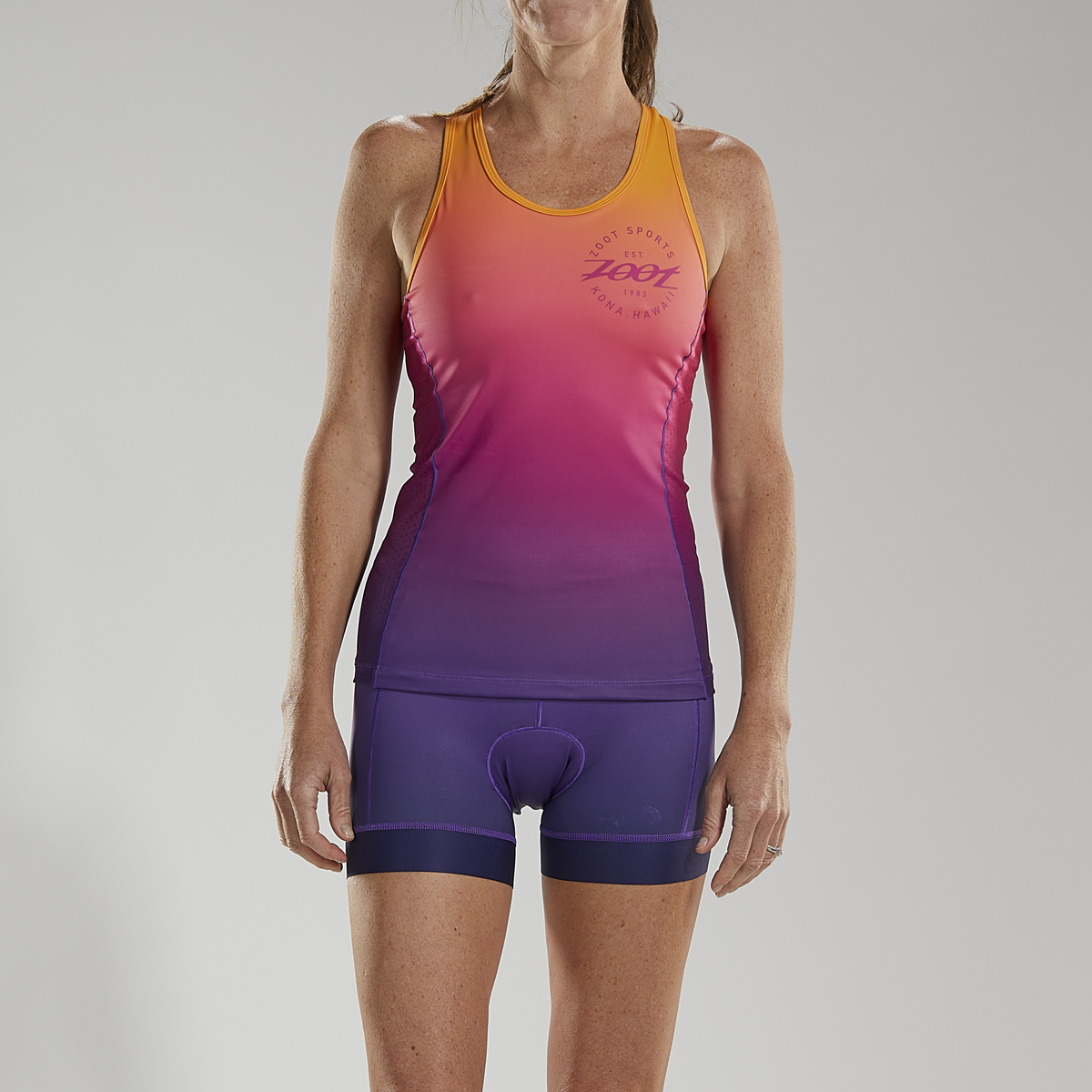 Zoot Women's Sunset Ltd Tri Racerback Top | cykeltrøje