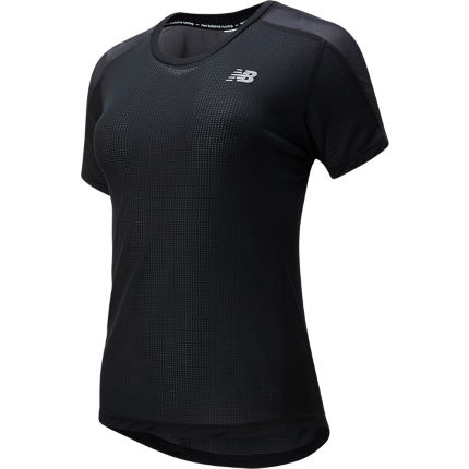 New Balance Women's Impact Short Sleeve Run Top