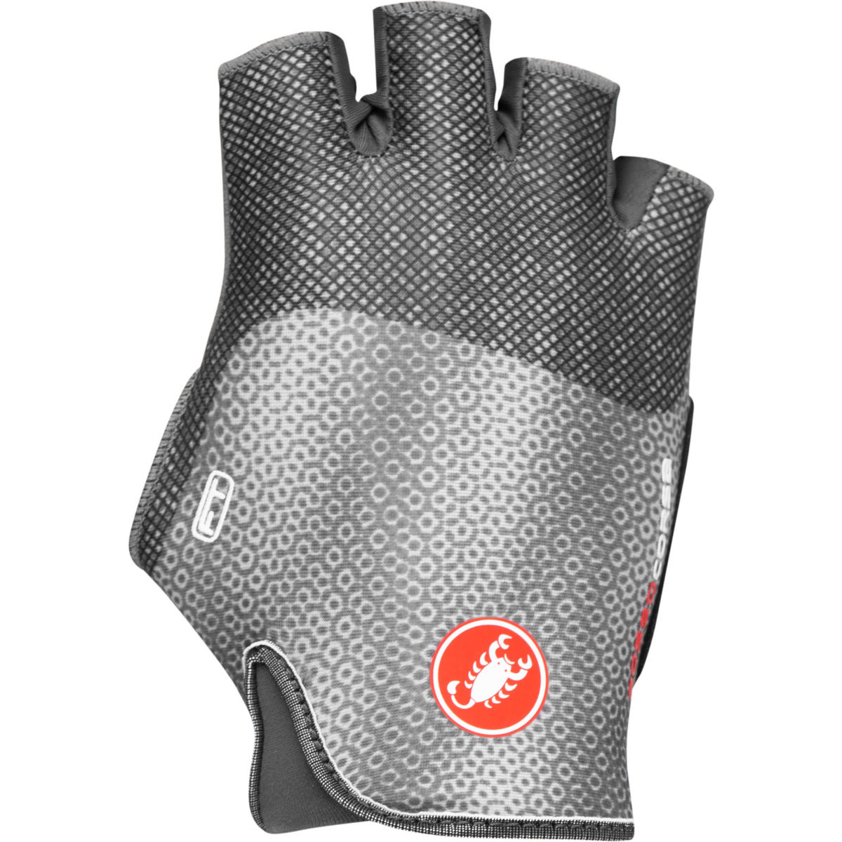 Castelli Womens Rosso Corsa Free Gloves - Xl Silver Grey  Gloves