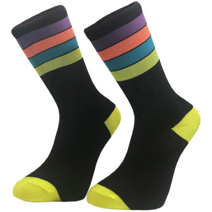 Primal Neon Stripe Socks