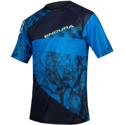 Endura SingleTrack Dots Short Sleeve Cycling Jersey