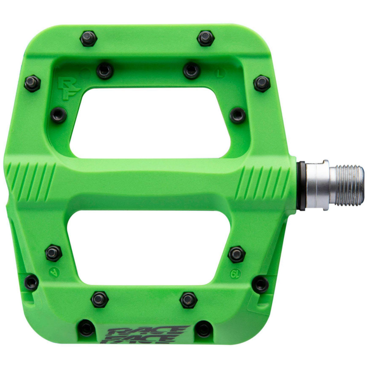 Race Face Chester Pedals - One Size Green  Flat Pedals