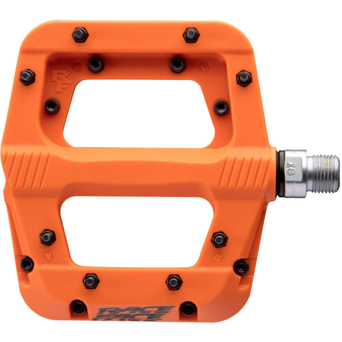 Race Face Chester Pedals - One Size Orange  Flat Pedals