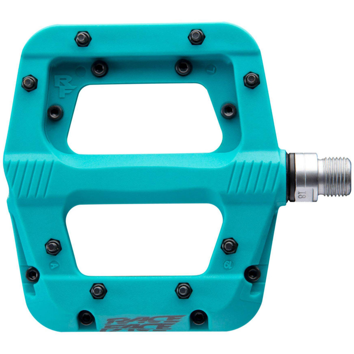 Race Face Chester Pedals - One Size Turquoise  Flat Pedals